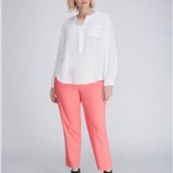 b9874046f90 Lane Bryant Pants - Lane Bryant. Lena pants. Coral color. Size 18.
